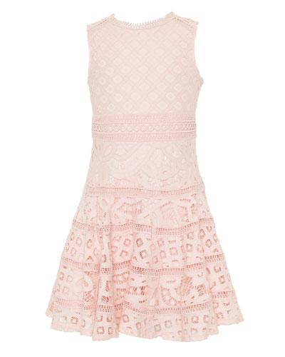 Elise Lace Dress, Size 8-14