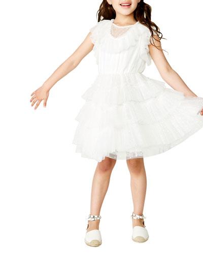 Nadia Mesh Dress, Size 8-16