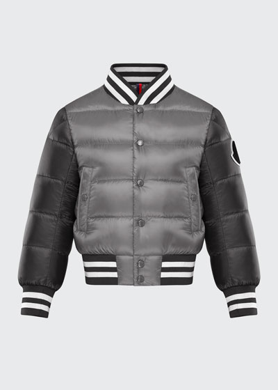 Boys' Beaufortain Bomber Jacket, Size 4-6