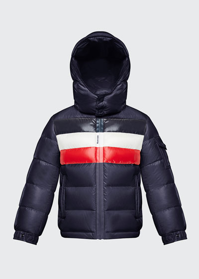 Dell Hooded Puffer Jacket, Size 4-6