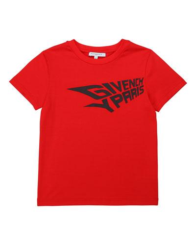 Boy's Logo T-Shirt, Size 4-10