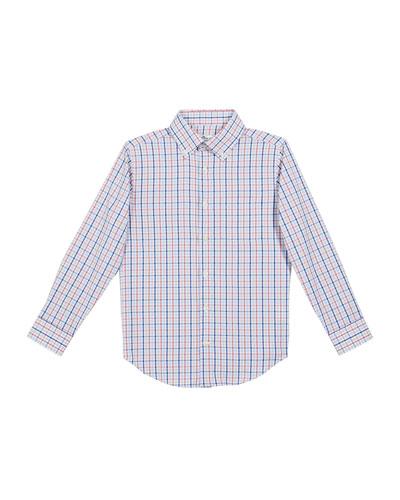 Boy's Howard Performance Sport Shirt, Size XXS-XL