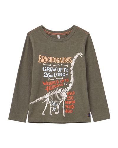 Raymond Glow-in-the-Dark Dinosaur Facts Tee, Size 2-6