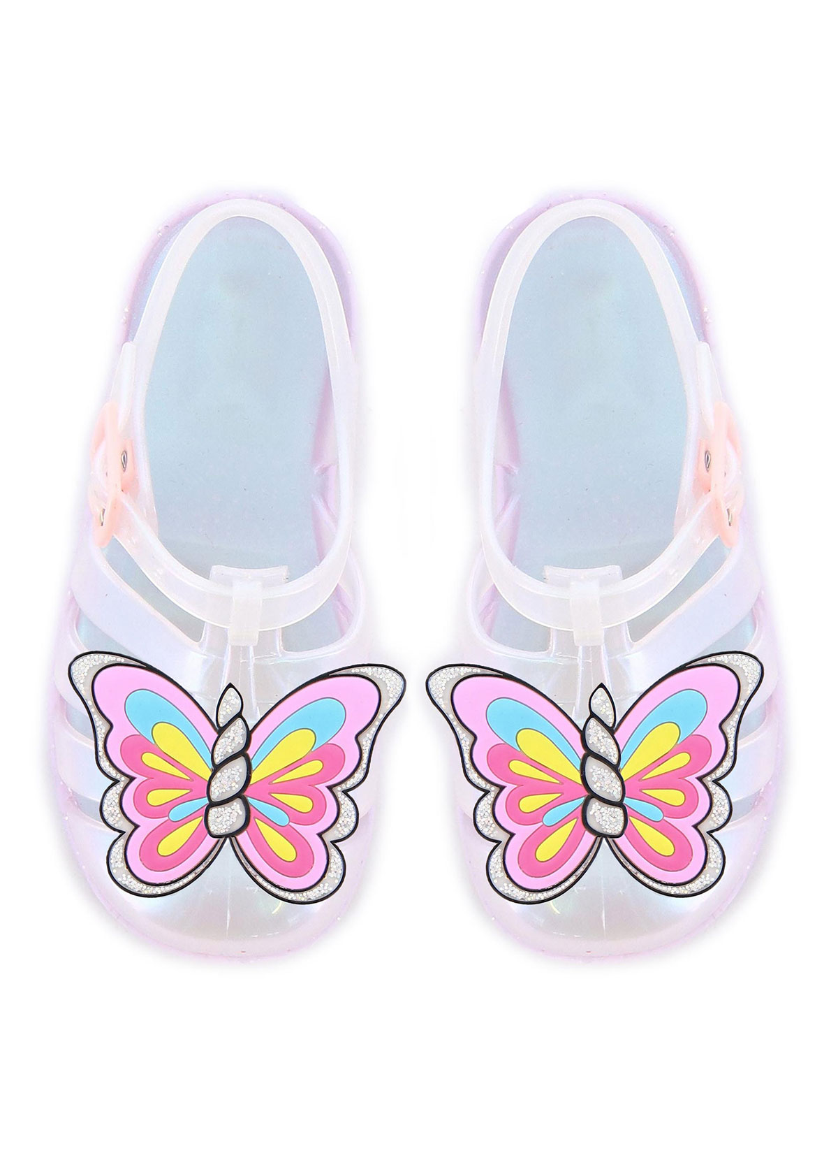 Sophia Webster UNICORN HORN & BUTTERFLY WING JELLY SANDALS, BABY/TODDLERS