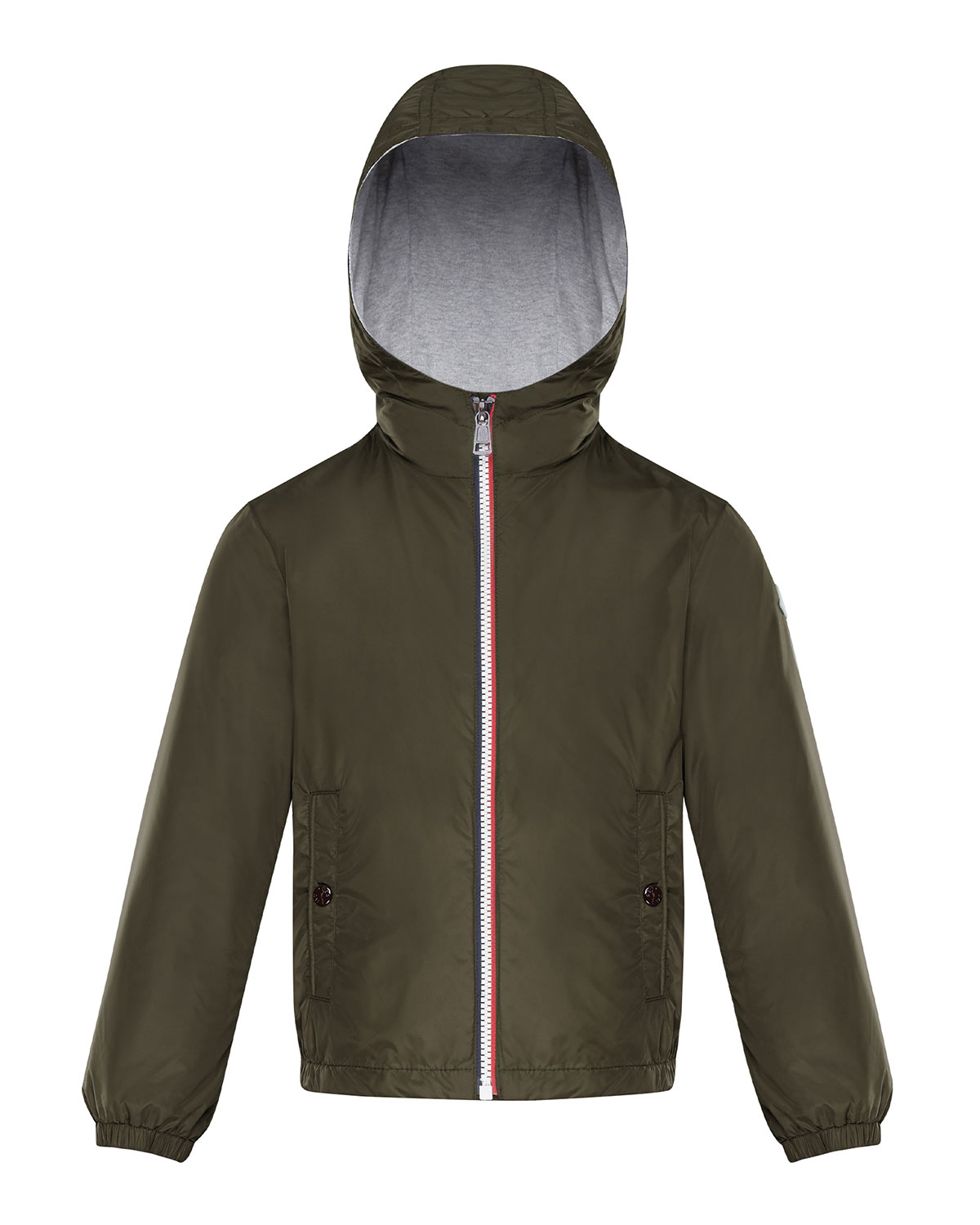 Moncler BOY'S URVILLE HOODED SOLID JACKET