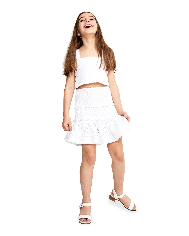 Bardot Junior GIRL'S SHIRRED SKIRT