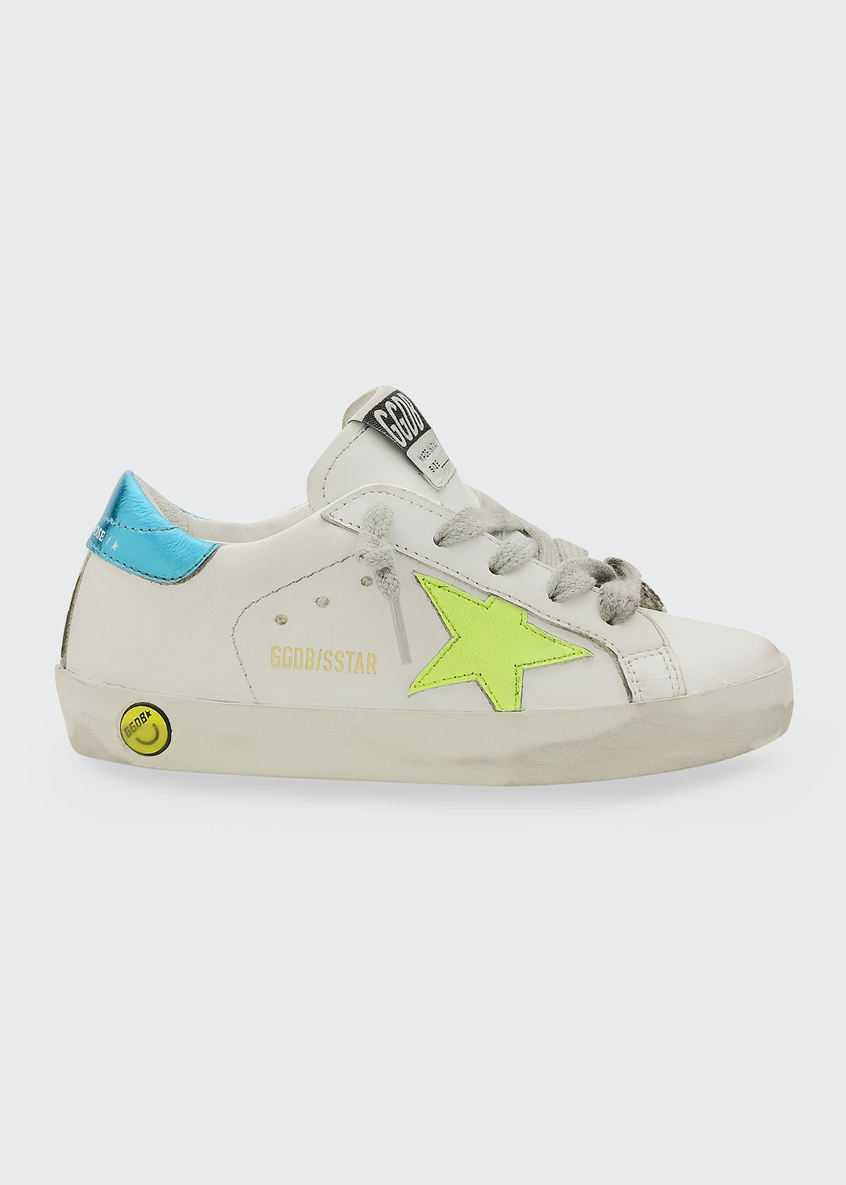 Golden Goose GIRL'S LEATHER LOW-TOP SNEAKERS, BABY/TODDLERS