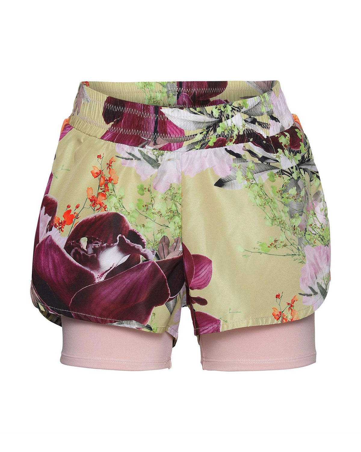 Molo GIRL'S OLYMPIA ORCHID PRINTED HEIQ SHORTS