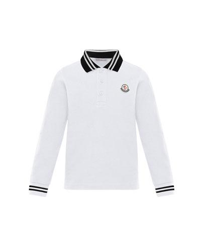 Moncler Polo Shirt | bergdorfgoodman.com