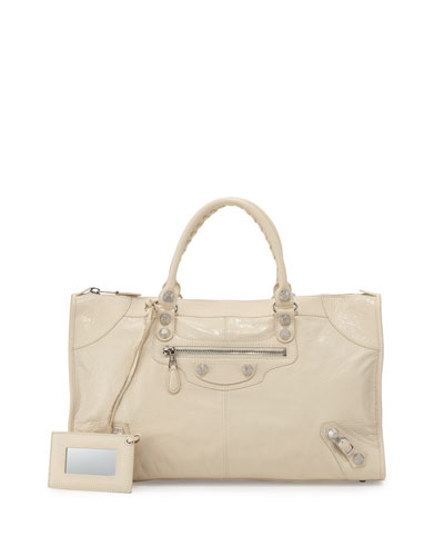 Giant 12 Nickel Work Bag, Cream