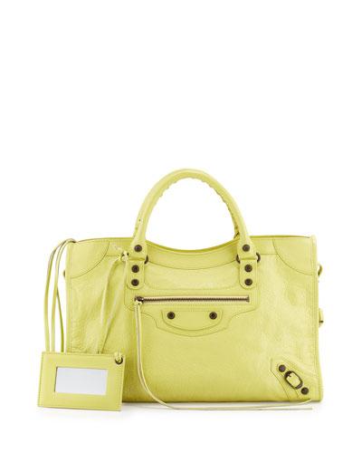 Classic City Bag, Yellow
