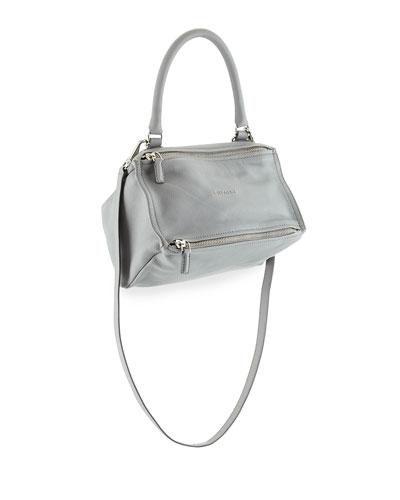 Pandora Small Sugar Leather Shoulder Bag