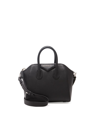 Antigona Mini Leather Satchel Bag