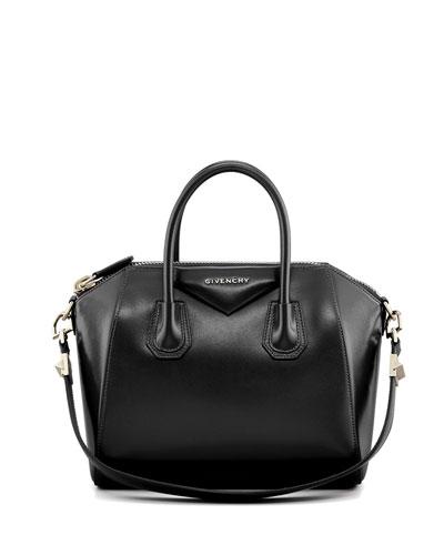 Antigona Small Box Calf Leather Satchel Bag 0a22330e5f6e8