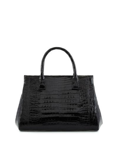 Crocodile Medium Soft Lady Bag