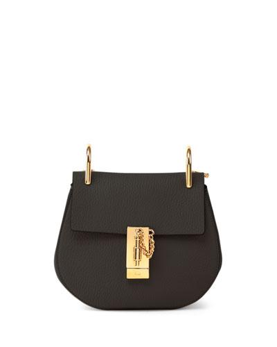 Drew Nano Leather Shoulder Bag
