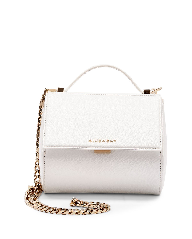 Pandora Box Mini Crossbody Bag, White