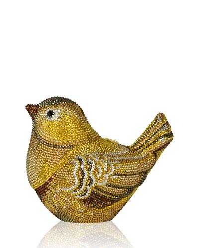 Bird Crystal Minaudiere, Aurum Multi