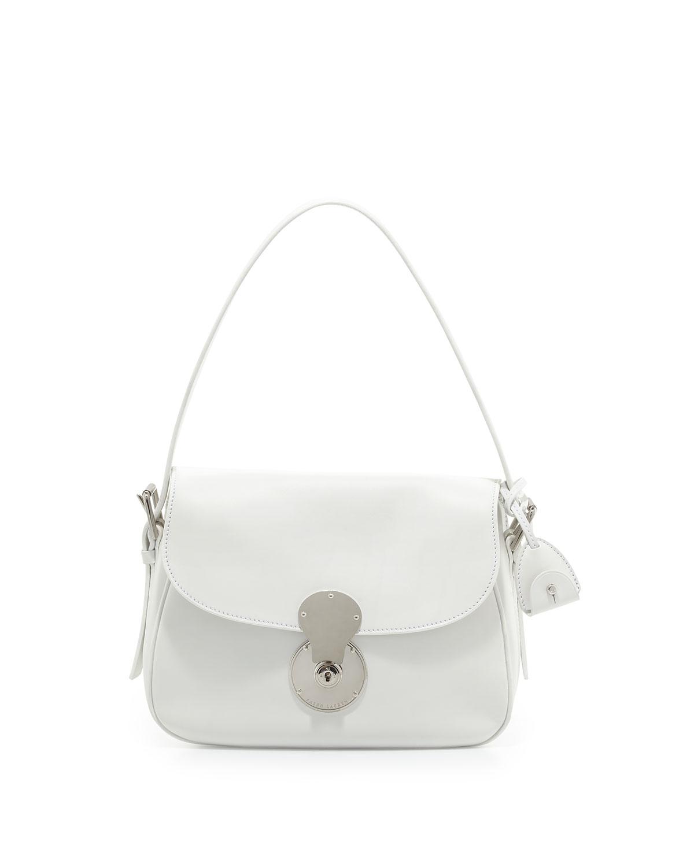 Ricky Medium Cartridge Bag, White