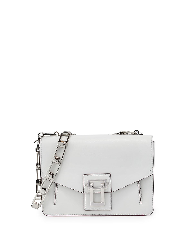 Hava Chain Shoulder Bag, White