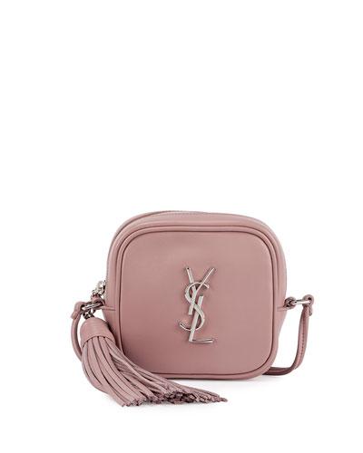 Monogram Toy Camera Shoulder Bag, Dusty Pink