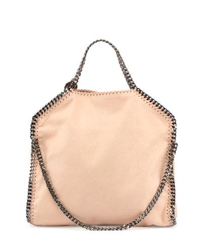 Falabella Fold-Over Shopper Bag, Powder