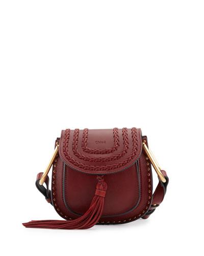 Hudson Mini Calf Leather Saddle Bag