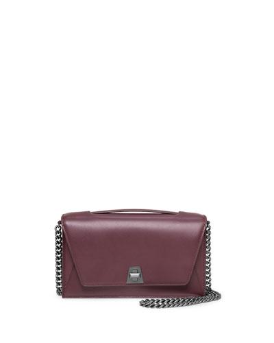 Anouk Soft Leather City Bag, Burgundy