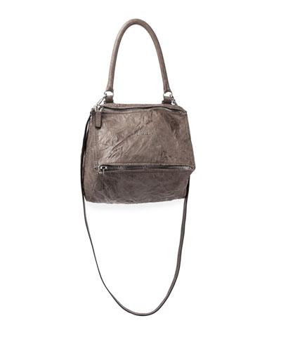 Pandora Mini Old Pepe Crossbody Bag, Caramel