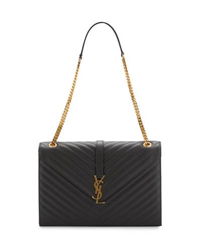 Monogram Matelasse Shoulder Bag