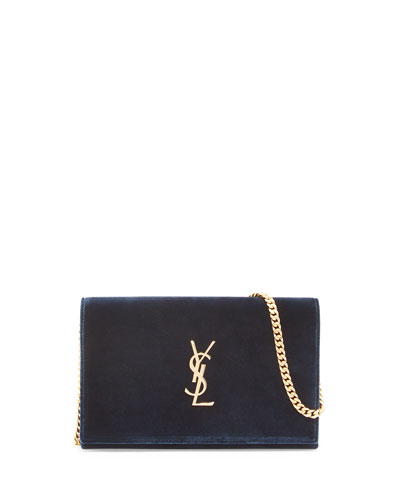 Monogram Velvet Chain Wallet
