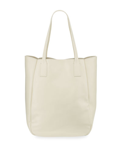 Bond Leather Tote Bag, Frost