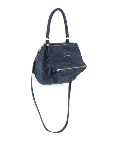 Pandora Pepe Small Satchel Bag, Night Blue