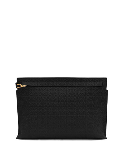 T Pouch Clutch Bag
