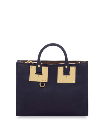 Small East-West Albion Tote Bag, Midnight