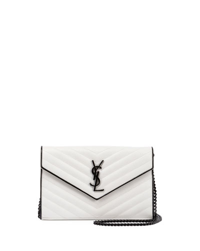 Monogram Matelassé Two-Tone Wallet-on-Chain