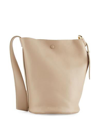 Houston Leather Hobo Bag, Olive