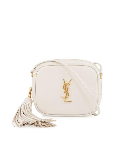 Monogram Blogger Crossbody Bag, White