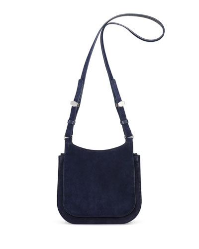 Suede Hunting Crossbody Bag 9