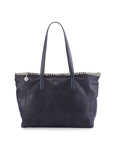 East-West Chain-Trim Tote Bag