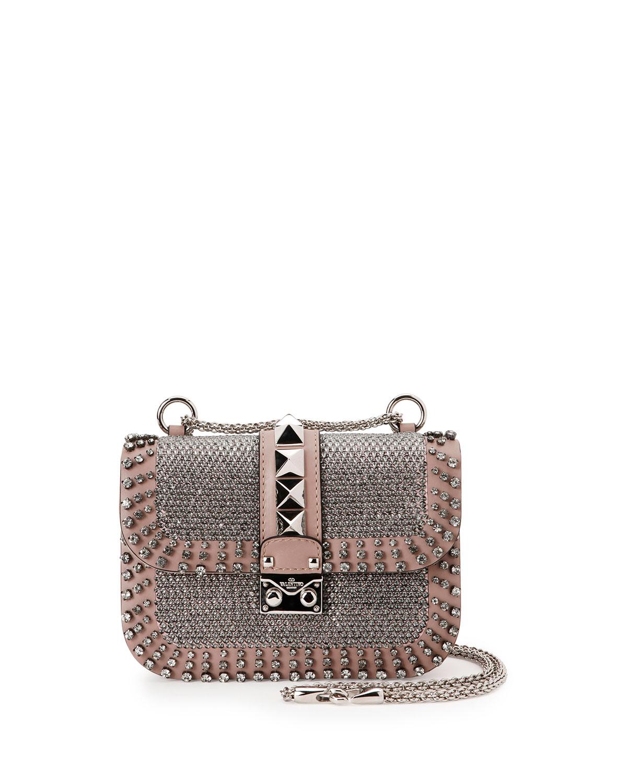 Lock Brilliant Small Shoulder Bag, Multi