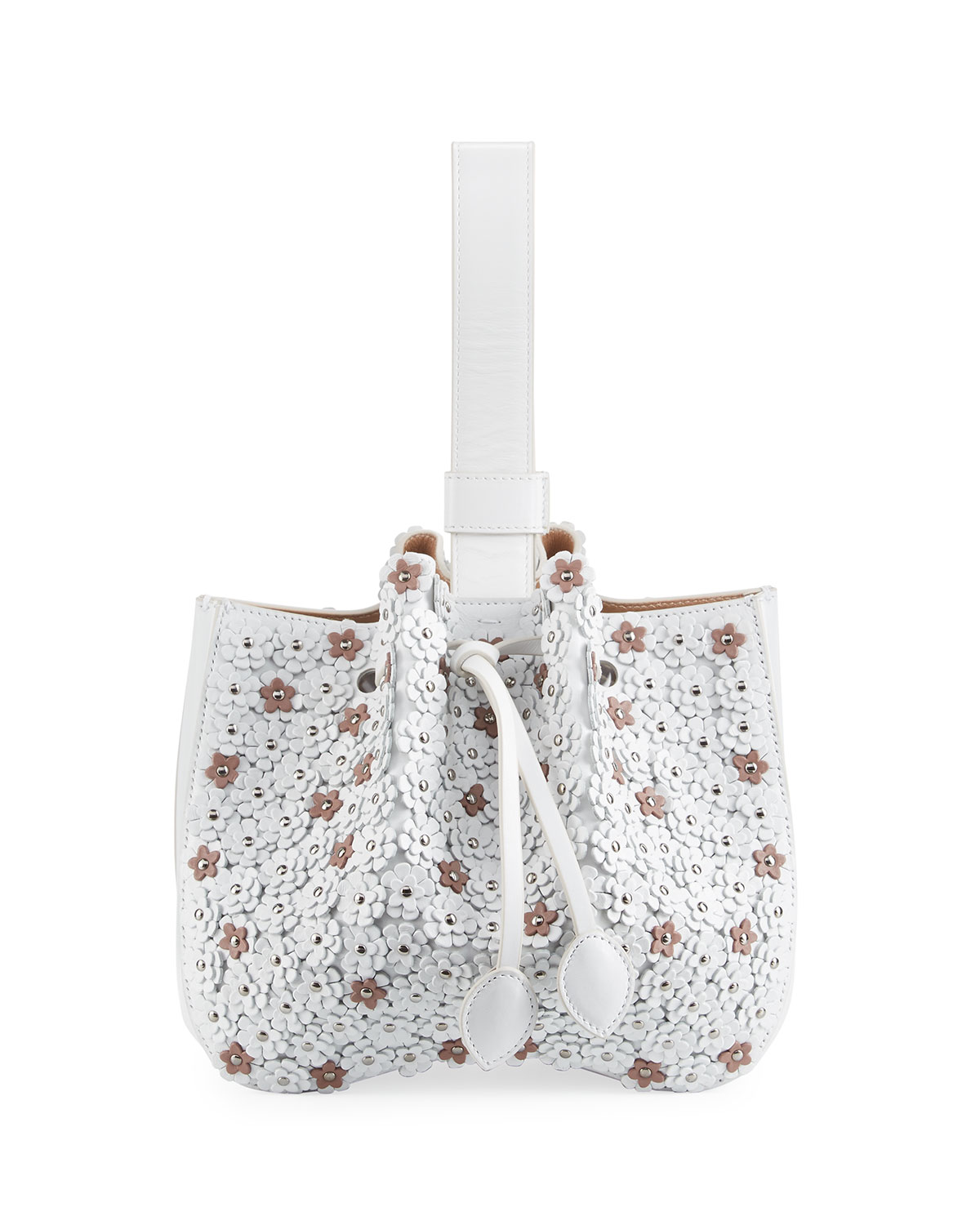 Leather Bag, White