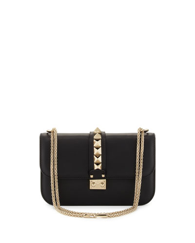 Rockstud Flap Shoulder Bag