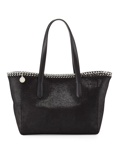 Falabella East-West Shopper Tote Bag, Black