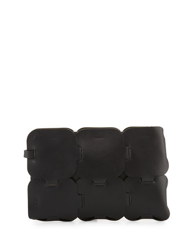Draggone Calf Leather Clutch Bag