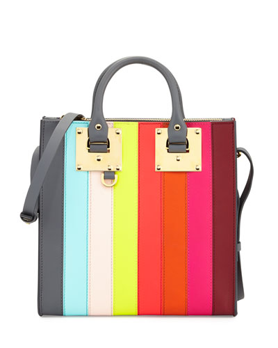Albion Square Tote Bag, Rainbow