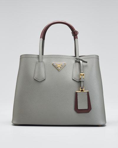 e58e7a474852 Prada Saffiano Leather Tote Handbag | bergdorfgoodman.com