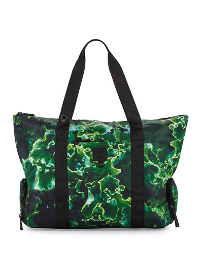 Some Kale Structured Gym Tote Bag, Green