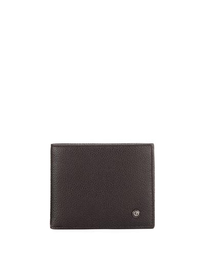 Caviar Leather Bi-Fold Wallet