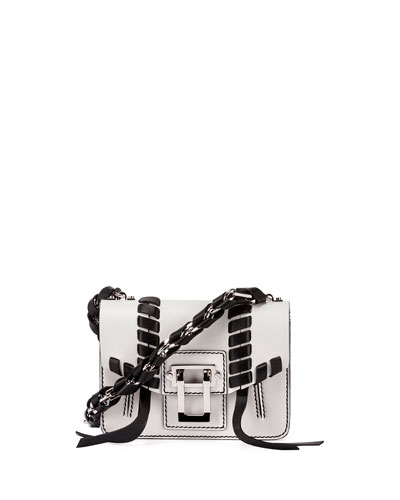 Hava Leather Chain Crossbody Bag